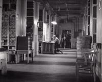 Bangor and Aroostook Railroad Parts Storage, Derby, c. 1945