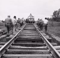 Bangor and Aroostook Track Repair, Littleton, 1956