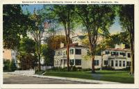 Governor's Residence, Augusta, ca. 1920