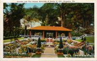 Garden and Tea House, Augusta, ca. 1915