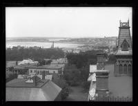 Casco Bay from Maine General Hospital, Portland, 1926