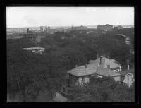 Aerial view from Maine General Hospital, 1926