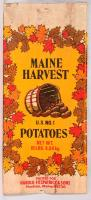 Maine Harvest potato bag, Houlton, c. 1980