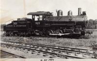 Bangor and Aroostook Switch Engine, 1927