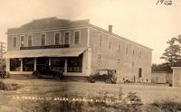 Tarbell's Store, Smyrna Mills, 1922