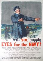 Navy plea for binoculars, 1917