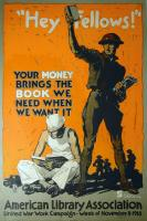 Hey fellows! World War I book poster, 1918