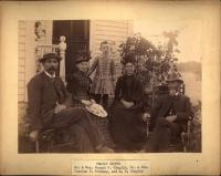 Chaplin and Trickey families, South Portland, ca. 1890