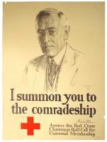 I summon you to the comradeship, World War 1 poster, 1918