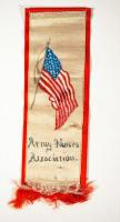Badge for the Army Nurses Association, ca. 1877