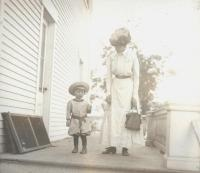 Linwood Elliot and Harriet N. Shaw, Orono, 1911