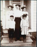 The Shaw family, Orono, ca. 1900