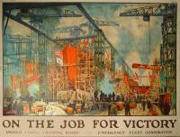 World War I manufacturing poster, 1918
