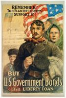 Remember! The flag of liberty World War I poster, ca. 1917