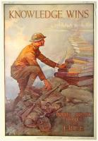World War I library poster, ca. 1918