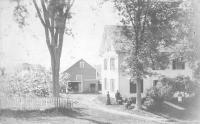 Wyman house, Sebec, ca. 1880