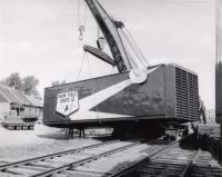 Moving generators, Presque Isle, 1959