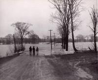 Spring flooding in Aroostook County, c. 1955