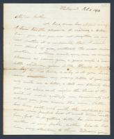 Letter from Susan Gardner to brother, William Sewall, 1832