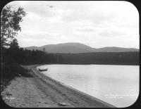 Sand beach, Lobster Lake, ca. 1900