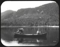 Fishing, Big Spencer Pond, ca. 1900