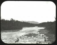 Kennebec River, near Outlet, ca. 1900