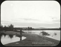 Sand bar, Lily Bay, Moosehead Lake, ca. 1900