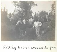 River drivers, West Branch, Penobscot River, 1911