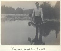 Horace Bailey, Long Lake, 1911