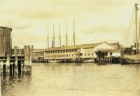 View from Wright's Wharf to Brown's Wharf, Portland, 1928