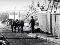 Long Wharf, Portland, ca. 1890