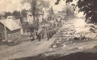 Memorial Day Parade, Hodgdon Mills, ca. 1910