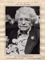 Mabel White, Houlton, 1989