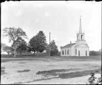 Bradley Meeting House and School, Portland, ca. 1900