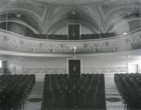 Cumston Hall Auditorium Seating, Monmouth, ca. 1900