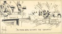 Cartoon about 1926 politics