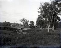 Riverton Park entrance, Portland, ca. 1900
