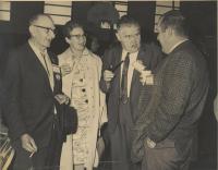 Durham Democratic Committee delegation, Lewiston, ca. 1966