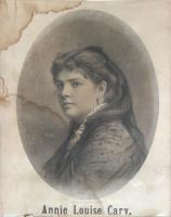 Annie Louise Cary, ca. 1870