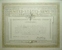 Jane Jeffrey citation, 1918