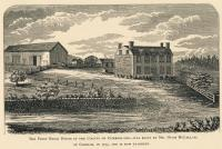 Print of McLellan House in Gorham