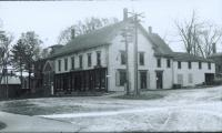 Bert Libby's and Ridlon's Store, School Street, Gorham, ca. 1910