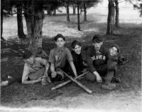 Baseball players, Sanford, early 1900s