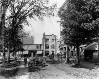 School Street looking toward Washington Street, Sanford, 1902