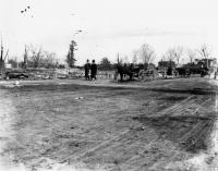 Springvale After Great Fire, April 14, 1905