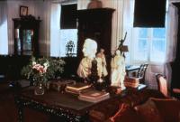 Library, Vassall-Craigie-Longfellow House, Cambridge, Mass., ca. 1974