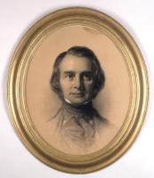 Portrait of Henry Wadsworth Longfellow by Eastman Johnson, 1846