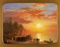 Departure of Hiawatha, ca. 1868