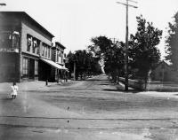 School Street, Sanford ca 1895