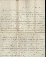 Civil War letter from Moses Greenleaf, Tennessee, 1865